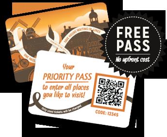 Free pass No Upfront cost